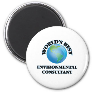 World's Best Environmental Consultant Magnet