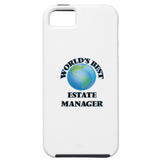 World's Best Estate Manager iPhone 5 Covers