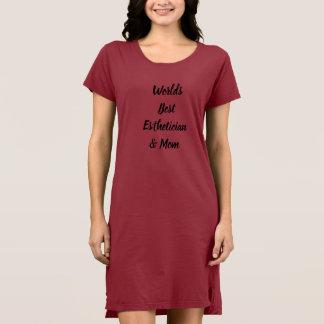 World's best esthetician dress