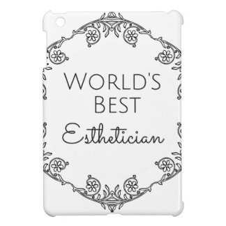 World's Best Esthetician gift 3 iPad Mini Cover
