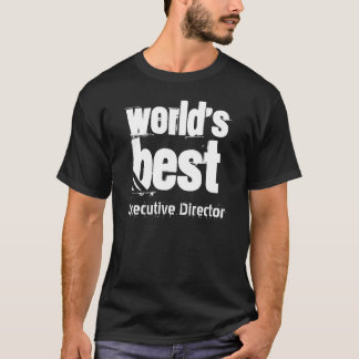 World's Best EXECUTIVE DIRECTOR Grunge Letters T-Shirt
