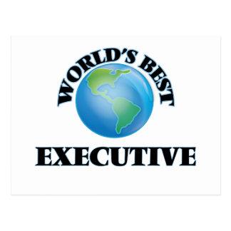 World's Best Executive Postcard