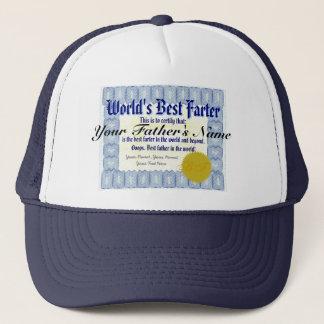 World's Best Farter Funny Dad Prank Trucker Hat