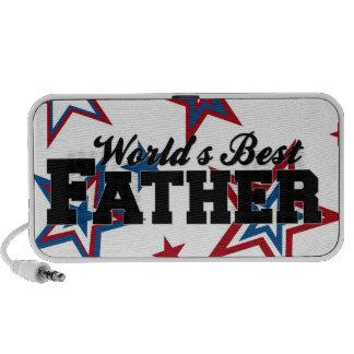 Worlds Best Father Laptop Speaker