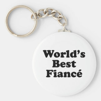 World's Best Fiance Key Chains