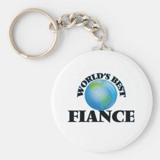 World's Best Fiance Key Chain