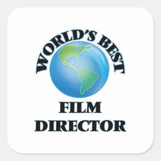 World's Best Film Director Square Sticker