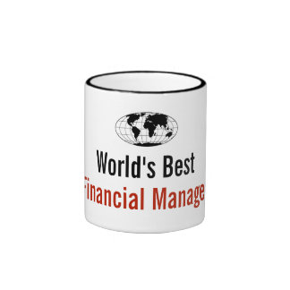 World's best Financial Manager Ringer Mug