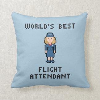 World's Best Flight Attendant Cushion