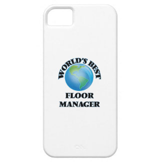 World's Best Floor Manager iPhone 5/5S Cases