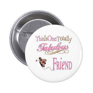 World's Best Friend 6 Cm Round Badge