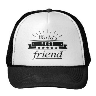 World's Best Friend Cap