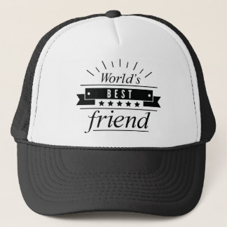 World's Best Friend Trucker Hat