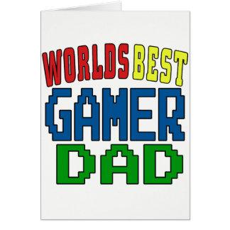 Worlds Best Gamer Dad Card