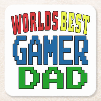Worlds Best Gamer Dad Coaster