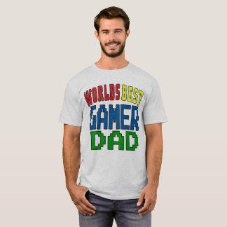Worlds Best Gamer Dad T-Shirt