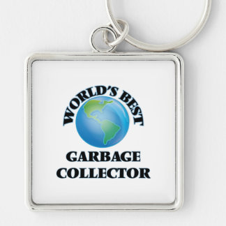 World's Best Garbage Collector Key Chain