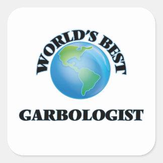 World's Best Garbologist Sticker