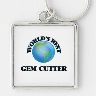 World's Best Gem Cutter Key Chain