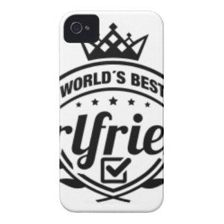 WORLDS BEST GIRLFRIEND iPhone 4 Case-Mate CASE