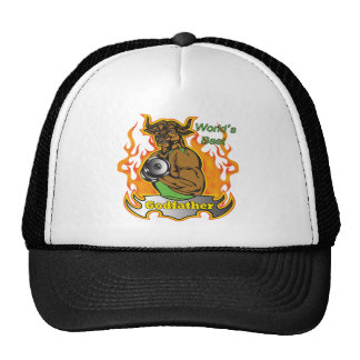 World's Best Godfather Father's Day Gift Trucker Hat