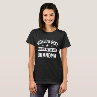 World's Best Golden Retriever Grandma T-Shirt