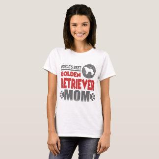 WORLD'S BEST GOLDEN RETRIEVER MOM T-Shirt