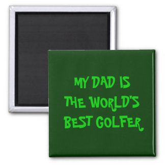 WORLD'S BEST GOLFER MAGNET