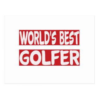 World's Best Golfer. Post Cards