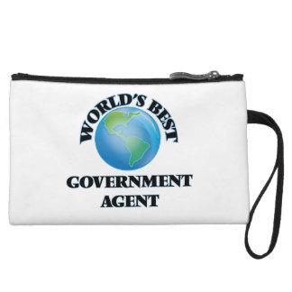 World's Best Government Agent Wristlet Purse