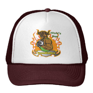 World's Best Grandfather Father's Day Gift Mesh Hat