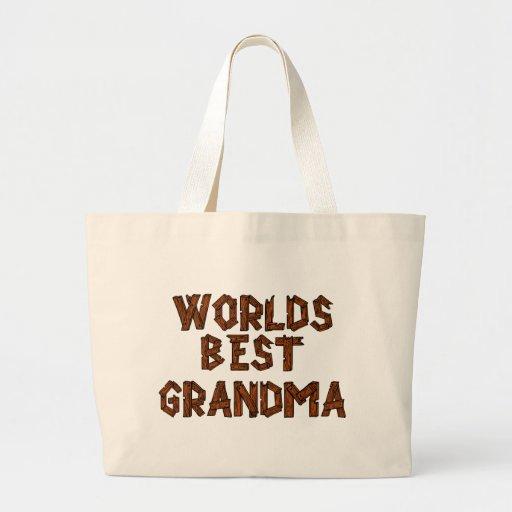 World's best Grandma Canvas Bag
