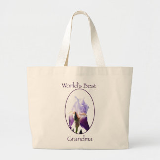 World's Best Grandma Bag Jumbo Tote Bag