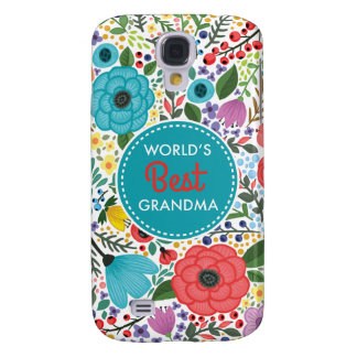 World's Best Grandma Galaxy S4 Cover