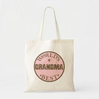 Worlds Best Grandma Gift