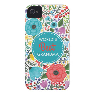 World's Best Grandma iPhone 4 Cover