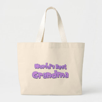 Worlds Best Grandma Jumbo Tote Bag