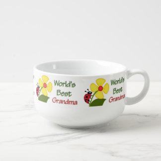 Worlds Best Grandma - Ladybug Soup Mug