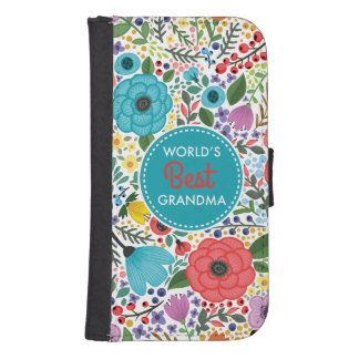 World's Best Grandma Samsung S4 Wallet Case