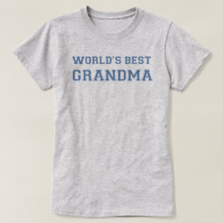 Worlds Best Grandma T-Shirt