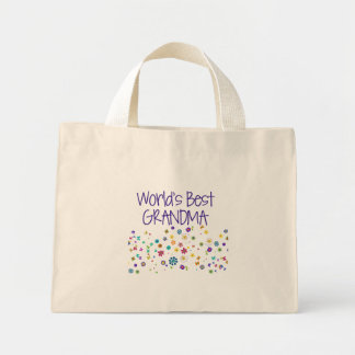 World's Best Grandma Canvas Bags