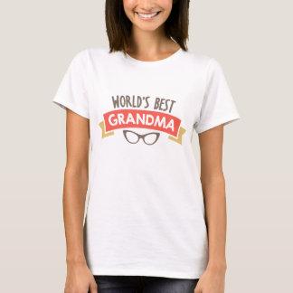 World's best Grandma word art t-shirt