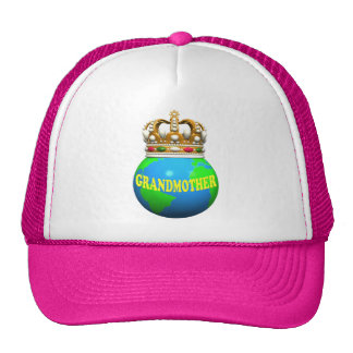 World's Best Grandmother Mothers Day Gifts Trucker Hat