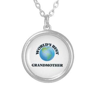 World's Best Grandmother Custom Necklace