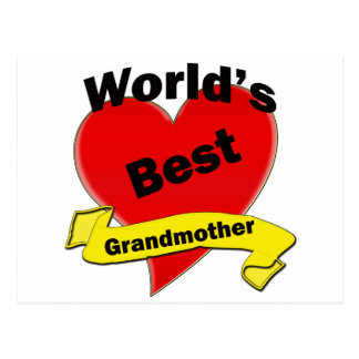 World's Best Grandmother Postcard