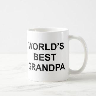 World's Best Grandpa Basic White Mug