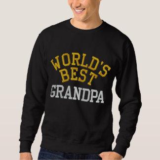 World's Best Grandpa Embroidered Sweatshirt