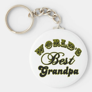World's Best Grandpa Gifts and Apparel Key Ring
