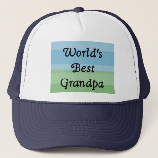 world's best Grandpa hat