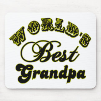 World's Best Grandpa Mouse Pad